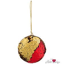 Новогодний декор <b>Lefard Шар</b> Цвет: Красный, Золотой Китай 8 ...