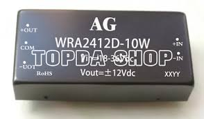 <b>1PC</b> DCDC WRA2412D-10W Isolated Voltage Regulated Power ...