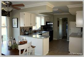 wall color ideas oak: wall paint oak cabinets kitchen remodelaholic from to beautiful white