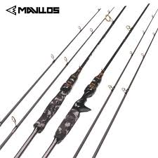 <b>Mavllos Camouflage</b> Carbon Spinning Fishing Rod 1.8m 2 Section ...