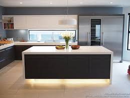 modern kitchen setup: kitchen of the day modern kitchen with luxury appliances black amp white cabinets