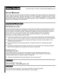 Best Resume For Office Job - Resume Sle