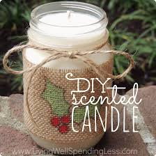 jar crafts home easy diy: diy scented candle gift ideas handmade gifts scented candles how to make