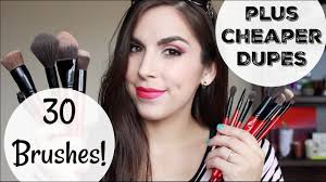 30 <b>SMASHBOX BRUSHES</b>! | Reviews & DUPES! | Katie Marie ...