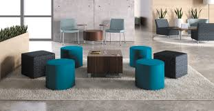 modern office lounge furniture. office lounge area with modern circular chairs and coffee table furniture