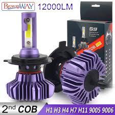 <b>BraveWay Led Headlight</b> for Auto <b>Led</b> Ice <b>Bulb</b> Car <b>Led Light H4</b> H7 ...