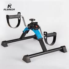 ALBREDA <b>Multifunction Mini exercise bike</b> Leg rehabilitation trainer ...