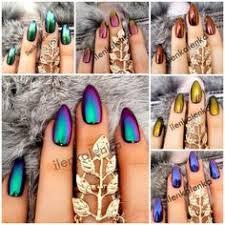 <b>Essence</b> Metal Shock nail powder 01 mirror, mirror on the nails ...