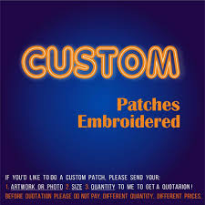 Free Shipping <b>Custom Patch Embroidery</b> for Your Logo Customized ...