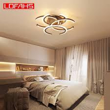 LOFAHS <b>modern led chandelier</b> lighting for living room bedroom ...