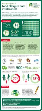 food safety early school leavers education resource food allergies and intolerances infographic