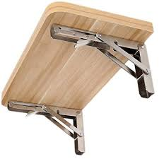 """<b>Folding</b> Shelf Bracket 16"""", Heavy Duty <b>Stainless Steel Foldable</b> Wall ..."""