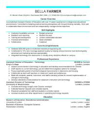 examples of resumes sample cv chief accountant example a resume sample cv chief accountant example of a resume for a truck driver live career resume