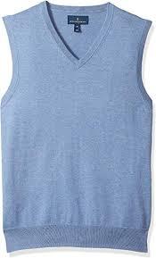 Amazon Brand - Buttoned <b>Down Men's</b> Supima <b>Cotton</b> Sweater <b>Vest</b> ...