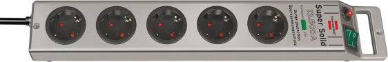 1153340315 <b>Brennenstuhl сетевой фильтр Super</b>-<b>Solid</b> 2,5 м., 5 ...