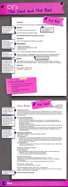 resume tips cv s the good and the bad career advice hub seek share