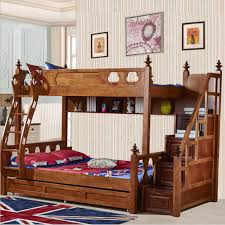 webetop american country style bunk bed mother son bed double type trailer bed high american country style font