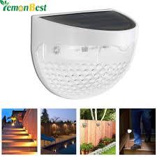 <b>Solar Led Wall Lamp</b> 6 LED Light Sensor Auto ON/OFF Waterproof ...