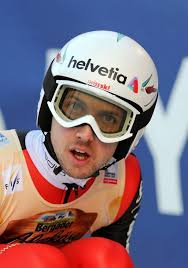 Swiss Simon Ammann reacts during the men's Ski Jumping World Cup in Willingen, Germany, - ad_126175808