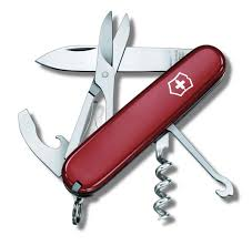 Швейцарский <b>нож Victorinox Compact</b>, длина лезвия 7 см ...