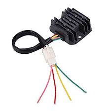 Wingsmoto 4 Wires <b>Voltage Regulator</b> Rectifier <b>Motorcycle Boat</b> ...