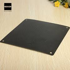New Arrival High quality <b>2pcs</b> 140x140mm PVC Black PC <b>Fan Dust</b> ...