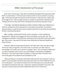 Personal statement and statement of purpose mba   buy research