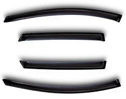 <b>Дефлекторы окон</b> для Peugeot 5008, 4ч., 2017-, <b>темные</b> — купить ...
