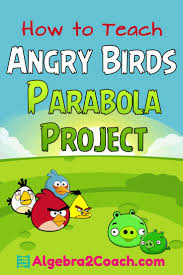 best ideas about algebra projects algebra i do this my class every year and they love it angry birds parabola