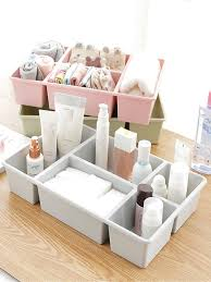 Buy <b>Plastic</b> Underwear Container Bra Socks <b>Drawer Storage</b> Box ...