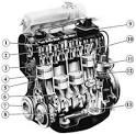 Двигатель автомобиля audi