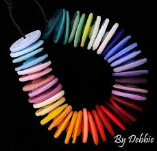 <b>Rainbow</b> Disc Beads For <b>Jewelry</b> Sets <b>Bohemian</b> Beads <b>Handmade</b> ...