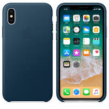 <b>Кожаный чехол Apple</b> для iPhone X