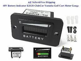 AU <b>48V Battery Indicator 48 Volt</b> EZGO ClubCar Yamaha Golf Cart ...