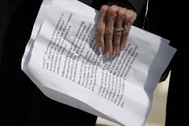 same sex marriage hearings continue supreme court weighs plaintiff edith windsor holds her notes before talking to reporters outside after arguments in her case against the defense of marriage act at the u s