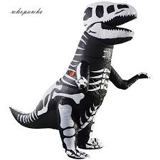 <b>Halloween</b> Inflatable <b>Dinosaur T Rex</b> Costume <b>Adult</b> Blowup Outfit ...