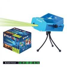 <b>Светильник Volpe Лазерный проектор</b> Disko UDL-Q350 4P/G BLUE
