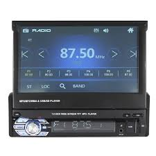 <b>7</b> Inch <b>1 DIN Car</b> Stereo Radio <b>Auto</b> MP5 MP4 MP3 DVD Player ...