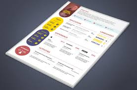 download free    best free resume   cv templates psd at    creative web designer developer resume template psd