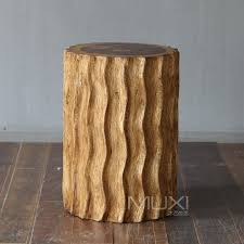 new southeast imported solid wood hand carved mango wood stool side corrugated side table nightstand bedside stool in stools ottomans from furniture on carved solid mango wood