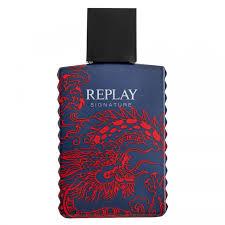 <b>Replay Signature Red Dragon</b> For Men Eau de Toilette Natural Spray