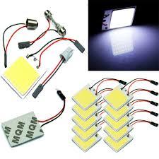 <b>2pcs Lot</b> Interior Panel Lamp Car Light 48 SMD COB <b>T10</b> 4W 12V <b>LED</b>