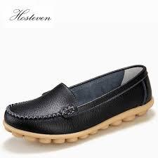 <b>Hosteven Women Shoes</b> Genuine Leather <b>Sneakers</b> Casual ...