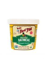 <b>Instant Oatmeal</b> Cups To Go | Bob's Red Mill