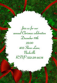 christmas invitation template ctsfashion com printable christmas invitation templates happy holidays