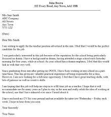 writing letter of application teaching job teacher job application cover letter examples job seekers forums cover letter for babysitting job