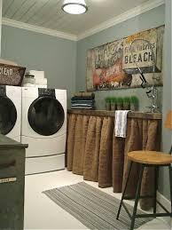 laundry room decor chic laundry room