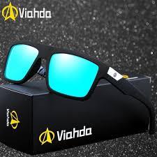 <b>Viahda</b> New Brand Squared <b>Polarized Sunglasses</b> Outdoor Glasses ...