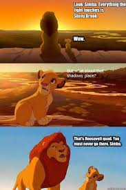 Look, Simba. Everything the light touches is Stony Brook. Wow ... via Relatably.com