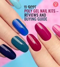13 Best <b>Poly</b> Gel <b>Nail</b> Kits Of 2020 – Reviews And Buying Guide